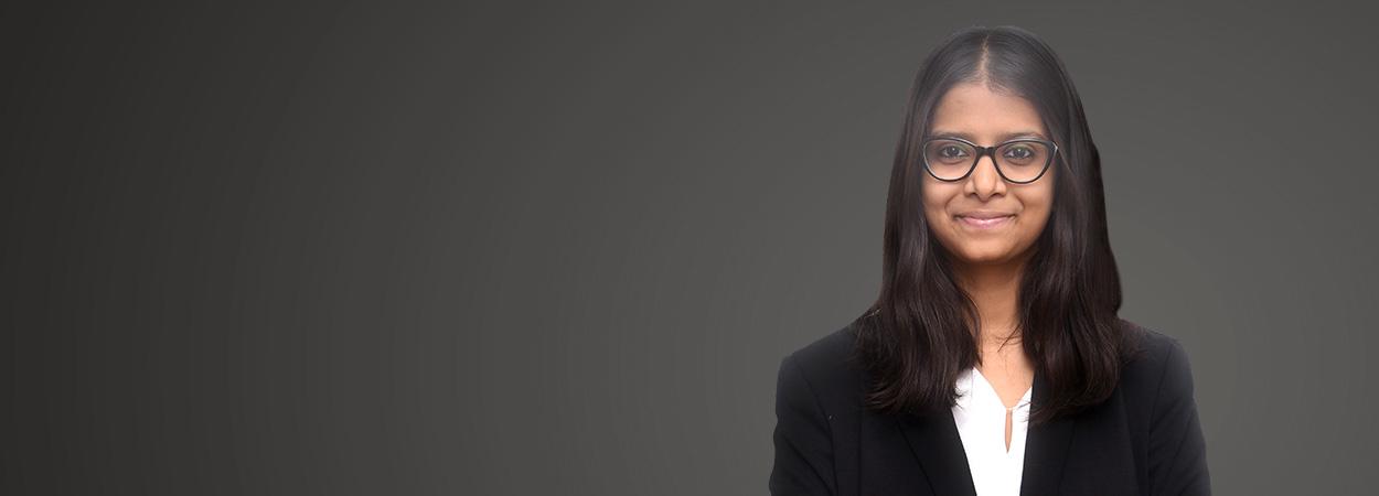 Krupa Brahmbhatt, Associate, JSA